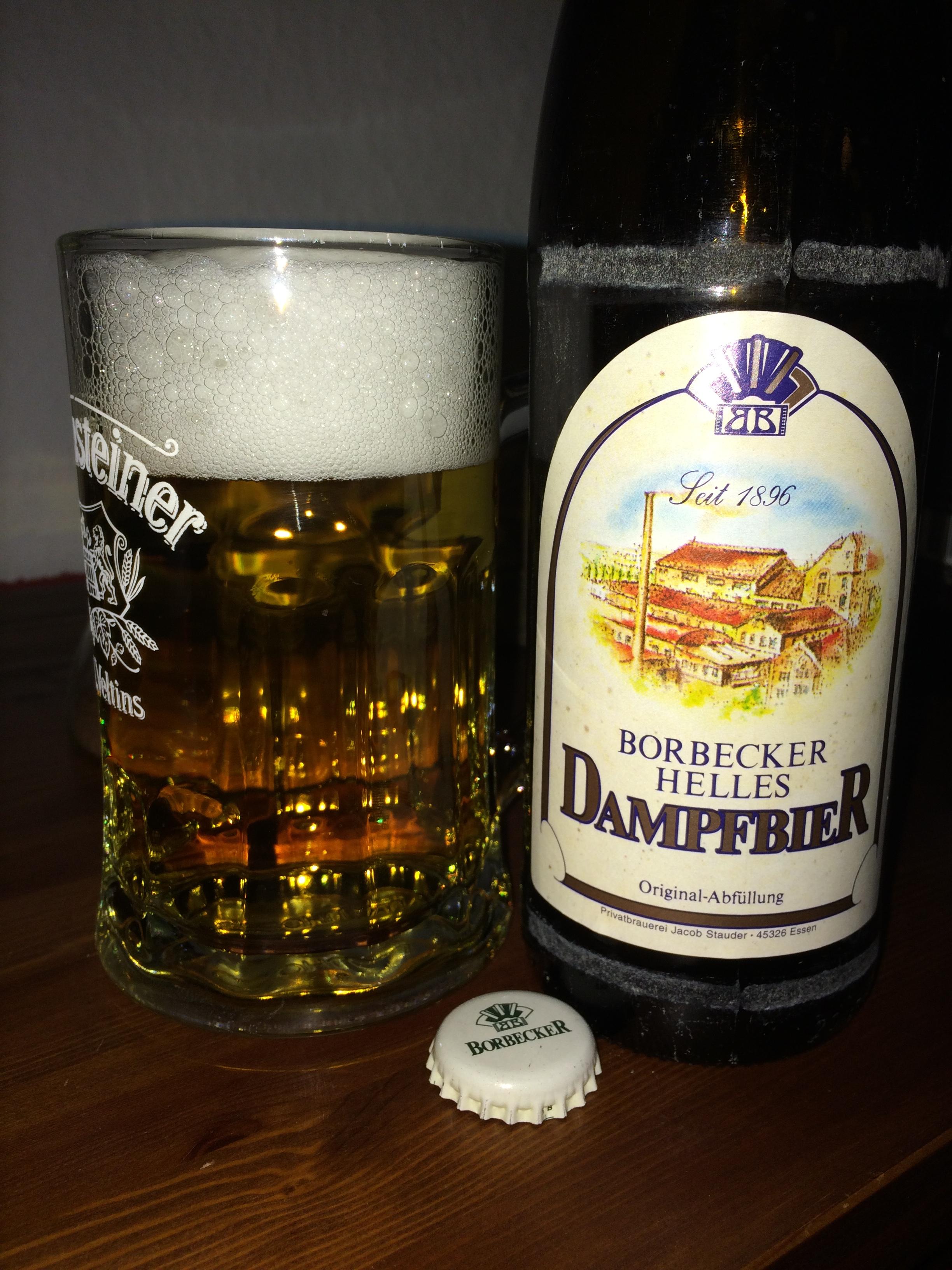 Borbecker Helles Dampfbier – Bierblogg